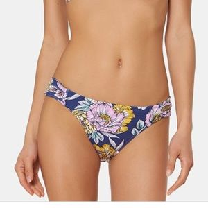 NWT Jessica Simpson Floral Bikini Bottom large